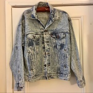 LEVI's Vintage 80's Acid Wash Jacket